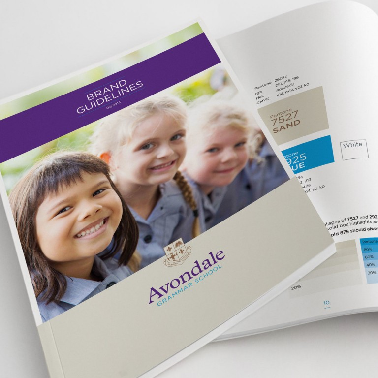 School Branding and Design - Avondale Grammar School - Singapore