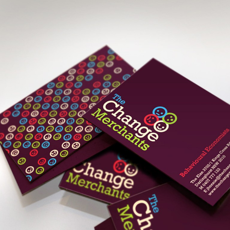 The Change Merchants Branding - logo design, identity, business cards