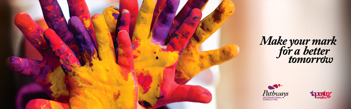 making your mark for a better tomorrow - Tapestry Creative - Pathways International Consultants