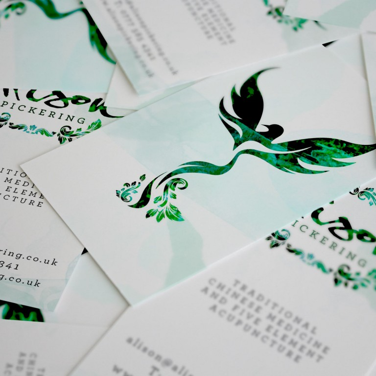 Alison Pickering Acupuncture Brand design